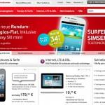 Vodafone Allnet Flatrate für Smartphones jetzt vergleichen